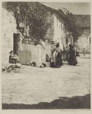 Courtyard Segovia