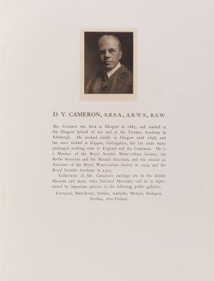 D. Y. Cameron