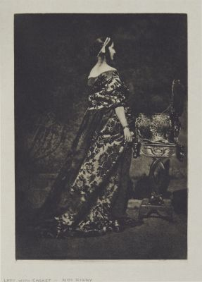 Lady with Casket – Miss Rigby