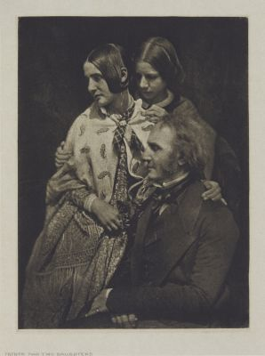Father and Two Daughters