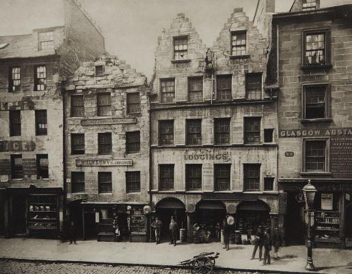 Old Buildings in High Street, No 17 – 27