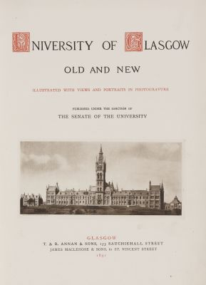 University of Glasgow Old and New