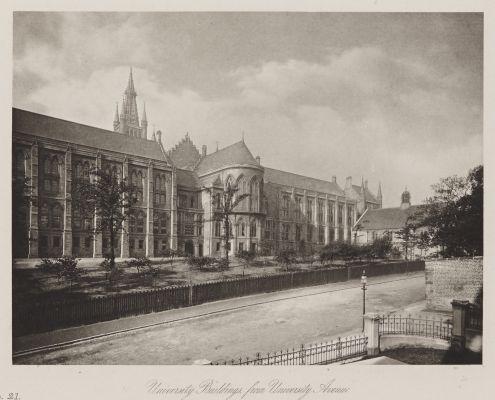 University Buildings from University Avenue