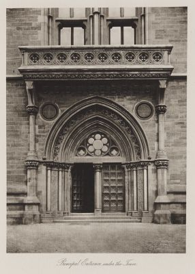 Principal Entrance under the Tower