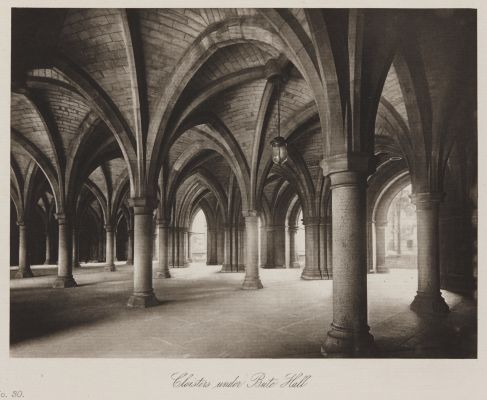 Cloisters under Bute Hall
