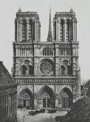 Notre-Dame, Façade Principale