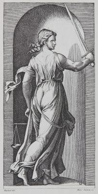La Justice d'apres Raphael