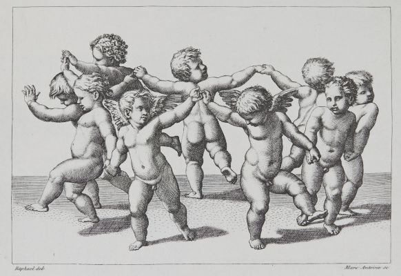 La Danse D'Amors d'apres Raphael