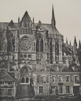Catédrale de Reims (Facade latérale)
