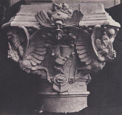 Column Head, Nouveau Louvre, 1856