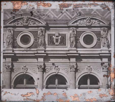 Hôtel de Ville de Paris. Baies d'attique(surplombant la salle des f.tes)