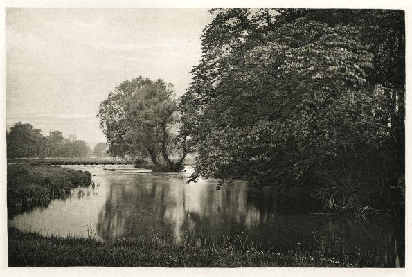 Plate XXXII Crow-Island Stream, River Wye