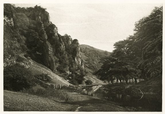 Plate XLII In Dove Dale