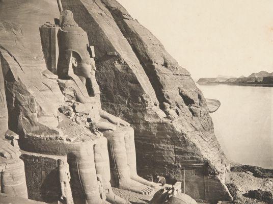 PL. CXLVIII Statue de Ramsés (proof)