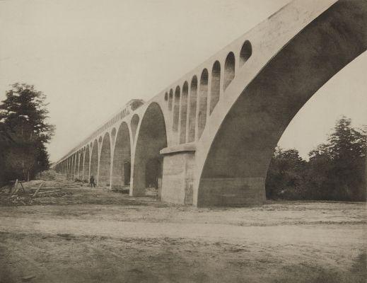 Pl. 37 Forêt de Fontainebleau, Arcades du Grand-Maître, Février 1870