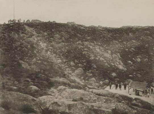 Pl. 39 Traversée des Sables de Fonteainebleau, 16 Decembre 1869