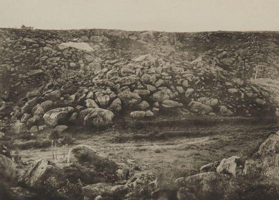 Pl. 40 Traversée des Sables de Fonteainebleau, 16 Decembre 1869