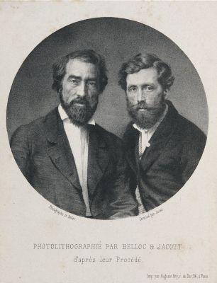 Photolithographié par Belloc & Jacott
