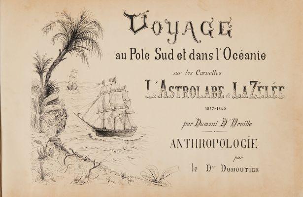Voyage au Pole Sud et dans l'Océanie