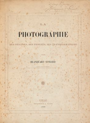 La Photographie: Ses Origines, Ses Progres, Ses Transformations