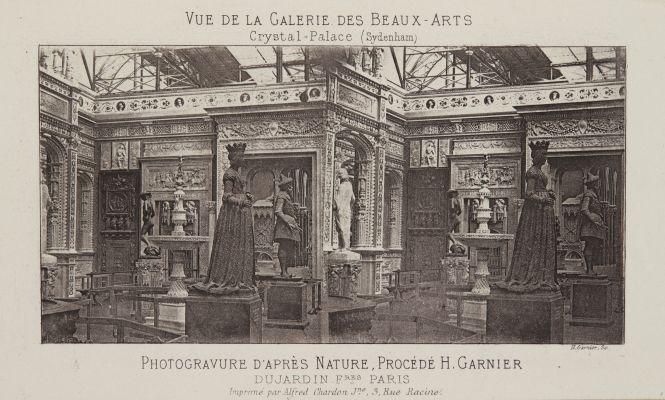 Vue de la Galerie des Beaux-Arts
