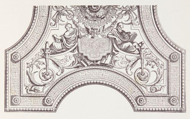 Plafond du Louvrew