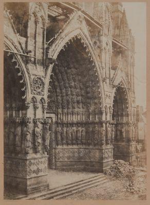 Cathédrale de Reims. Portail principal.