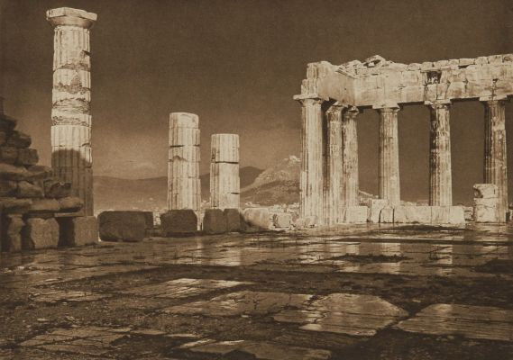 The Parthenon After a Storm