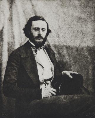 Autoportrait de Charles Nègre