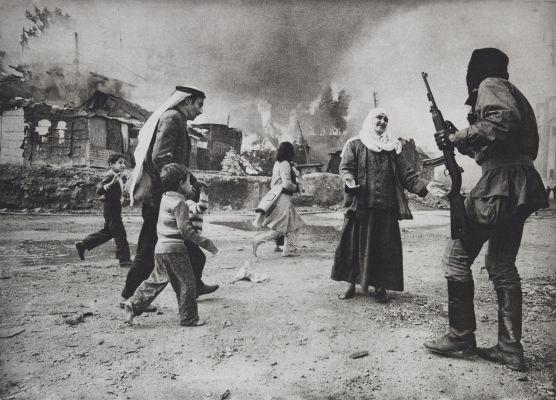 Massacre de la quarantaine, Beyrouth