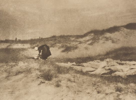 Washerwoman on the Dunes