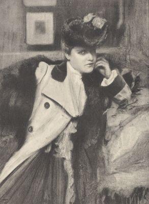 Portrait – Mlle. D.