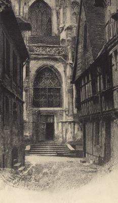 Street in Lisieux