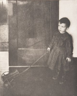 Boy with Wagon