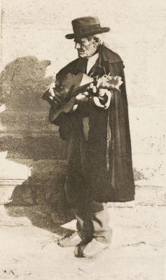 A Blind Musician – Granada