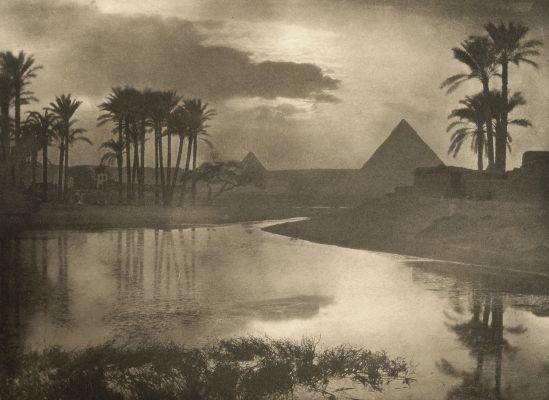 Evening near the Pyramids
