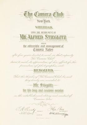Resignation Certificate