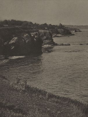 On the Cliff Walk, Newport