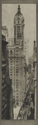 The Singer Building, Noon