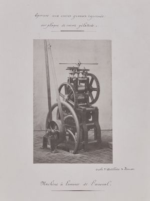Machine à laminer de l'arsenal