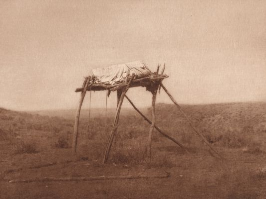 A Burial Platform – Apsaroke