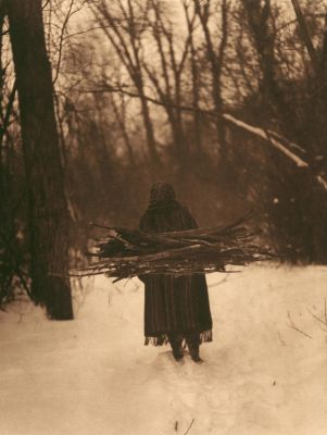 The Wood Gatherer-Sioux