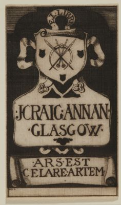 James Craig Annan's Bookplate