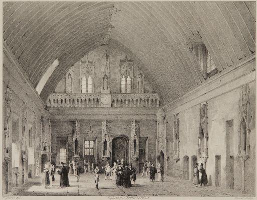 Grand Salle du Palais de Justice [de Rouen]