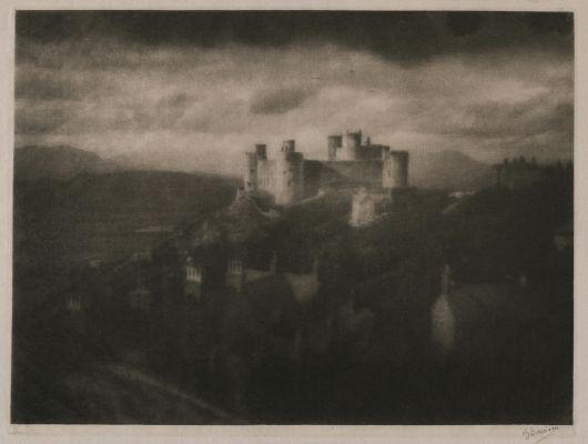 Harlech Castle (signed)