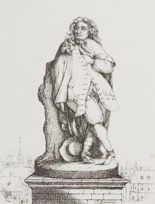 Statue de Lafontaine