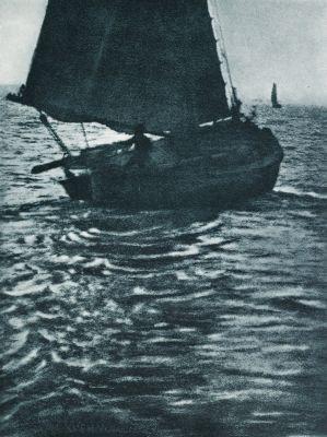 Auslaufendes Boot