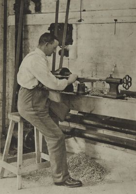 A Turning Lathe