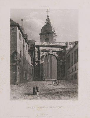 France. Porte Noire à Besançon