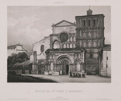 France. Ste Croix à Bordeaux